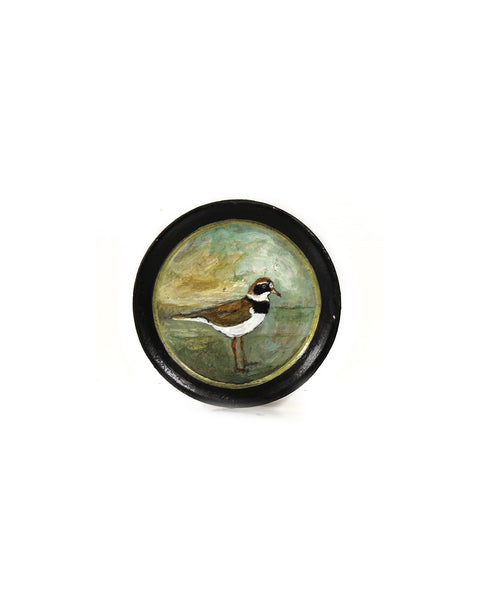 Miniature Ringed Plover | Hand Painted Tray