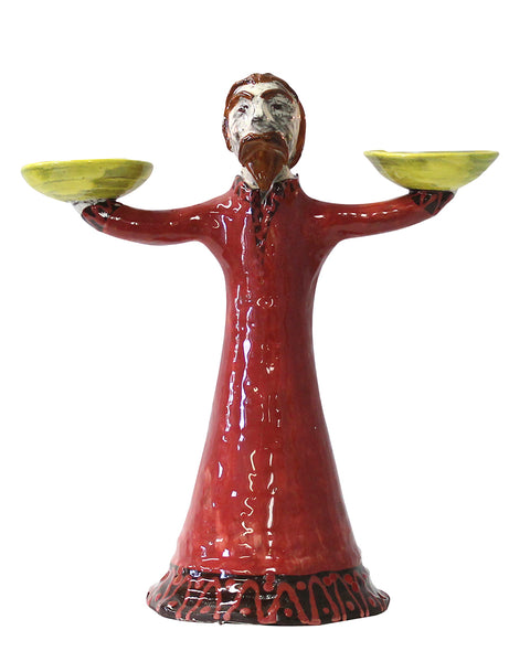 Mr Ramsey (as Zeus) Candleholder