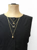 Treasure Necklace - Double Clubs (GOLD)