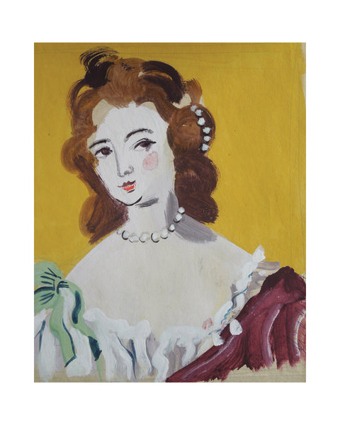 Painted Portrait NELL GWYN