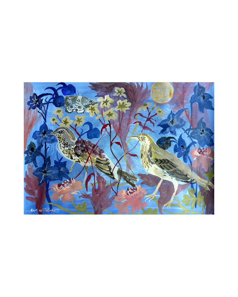 Raphael Balme: Night Garden Birds