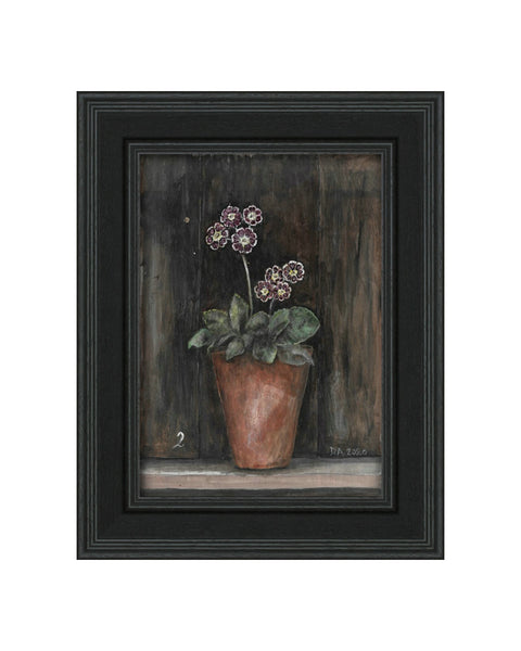 Auricula No.2 - Original Framed Painting