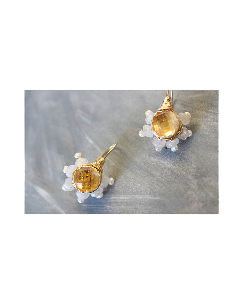 BAROQUE BLOSSOM EARRINGS
