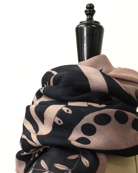 PLANT HUNTER SCARF | No4 (FOREST FLOWERS)