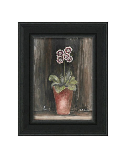 Auricula No.4 - Original Framed Painting