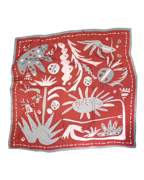 PLANT HUNTER SCARF | No2 (Giant Leaves)