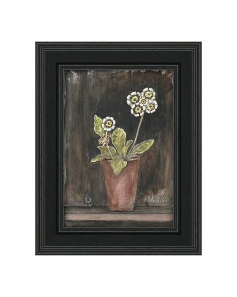 Auricula No.6 - Original Framed Painting