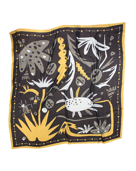 PLANT HUNTER SCARF | No1 (Giant Leaves)