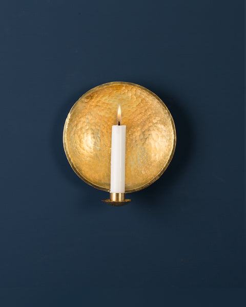 Candle Sconce: No5 Nursery 15cm: Brass