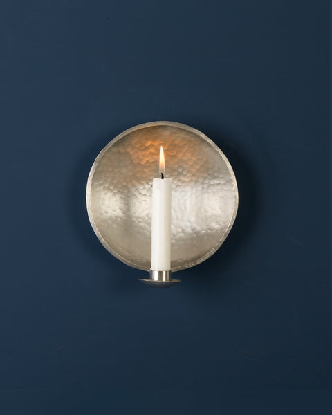 Candle Sconce: No5 NURSERY 15cm: Pewter