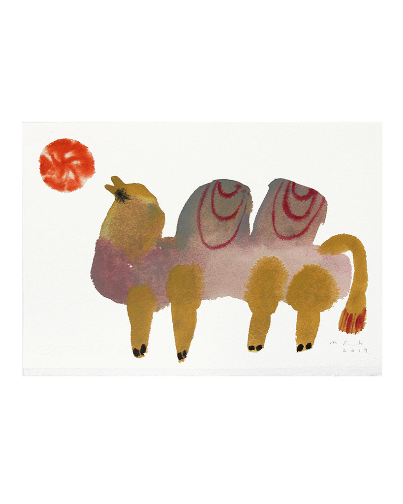 Left Camel (Original Watercolour)