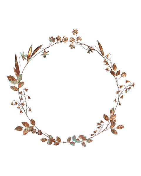Hedgerow Wreath: No8 Bluebells & Wild Daffodil