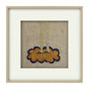 Standing on a Cloud - Original Embroidery (Framed)