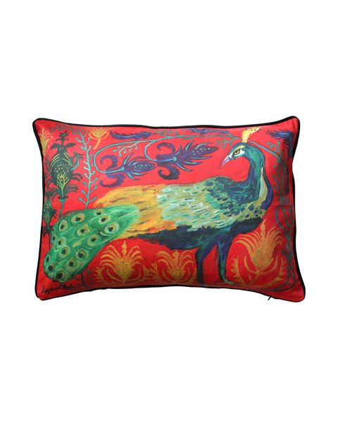 Large Cushion cover: Peacock