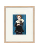 OIL PAINTING | Pierrot Boy with Dog