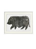 SALE: Pot Bellied Pig Linocut