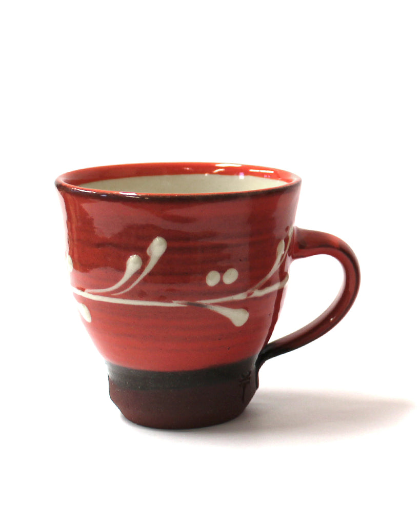 coffee Cup | Raspberry red