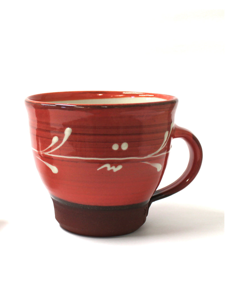 Bowl Cup | raspberry Red