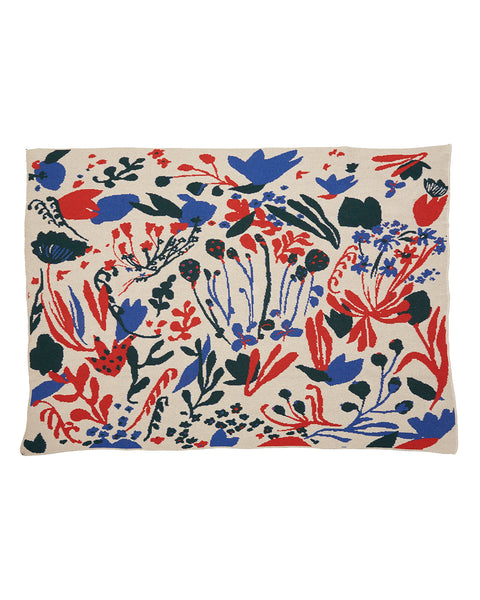 Folk Art Blanket (Large): Flowers