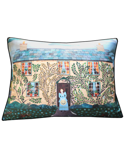 Beatrix Potter's Hilltop - cushion cover