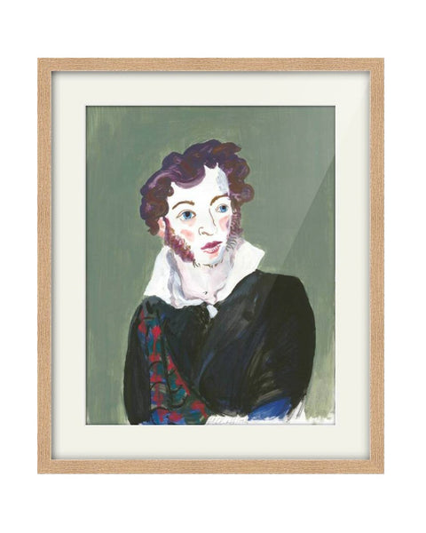 Original Painting - Alexander Pushkin