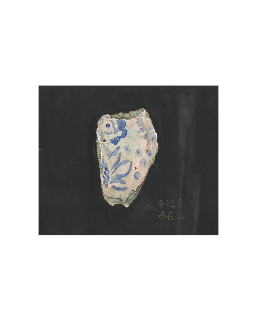 PAINTED FRAGMENT NO10