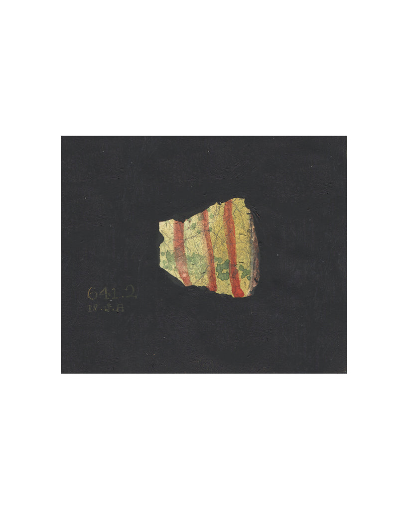 PAINTED FRAGMENT NO3