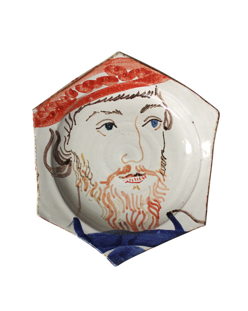 Painted Face Plate: James Butler