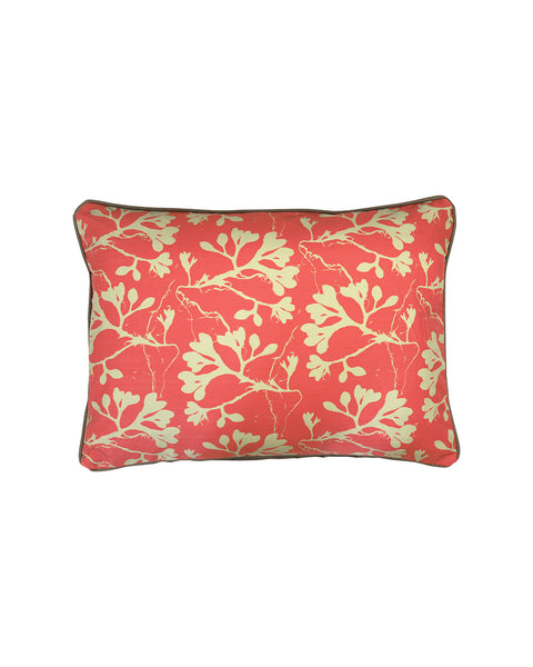 SALE: Seaweed Cushion Cover | Raspberry Pink