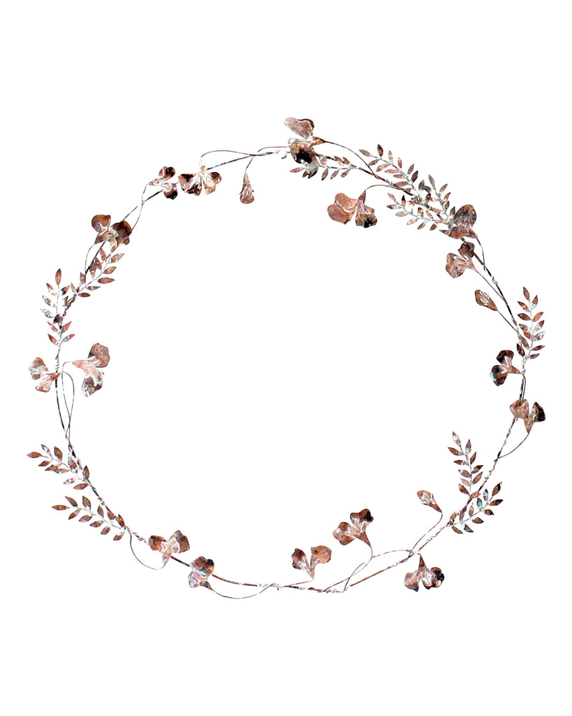 Hedgerow Wreath: SWEET PEAS & LEAF SPRIGS NO4