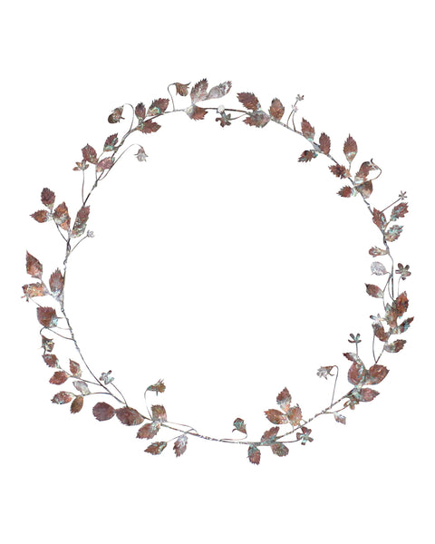 Hedgerow Wreath: SEED & ROSEBUDS