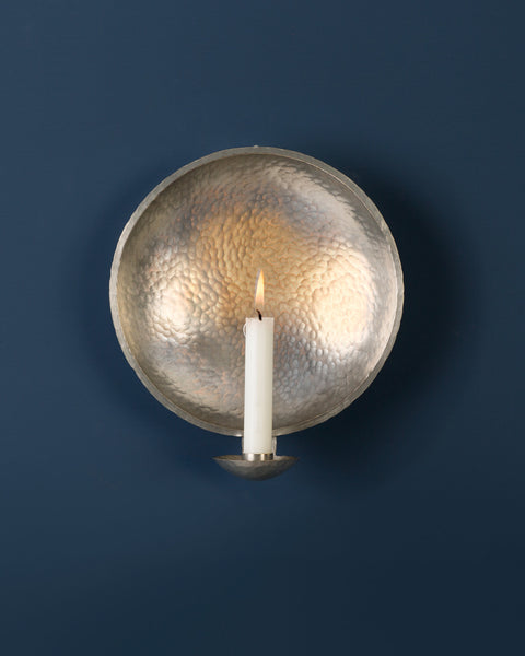 Candle Sconce: No4 ROYAL 21cm: Pewter