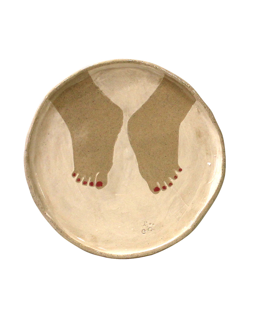 Cake Plate - Little Feet No1