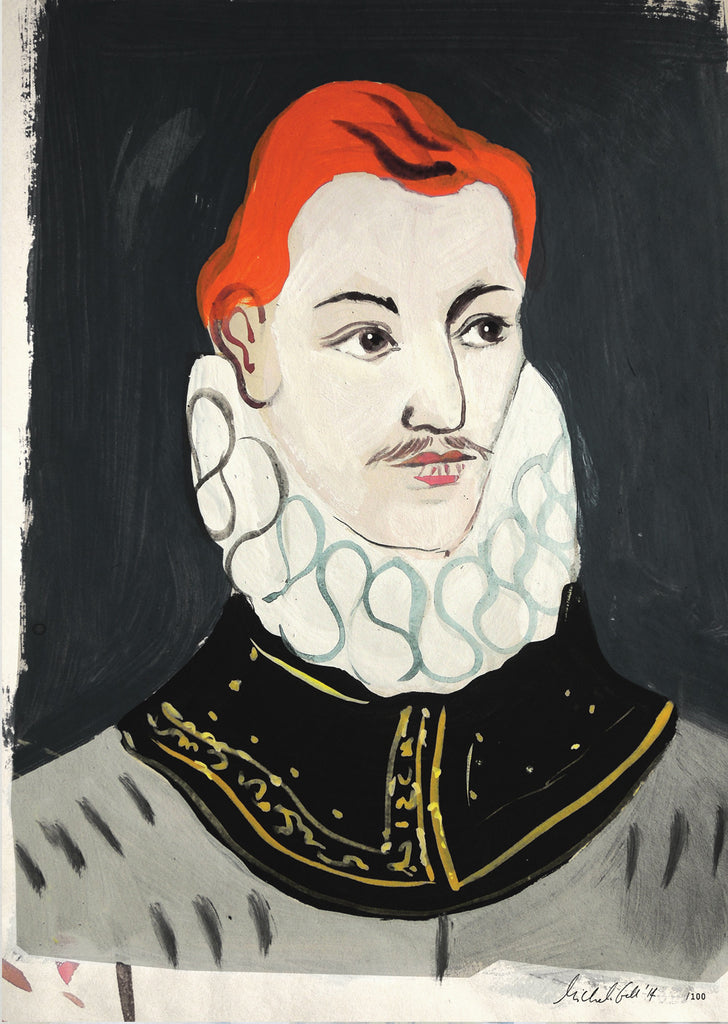 Painted Portrait Sir Philip Sidney