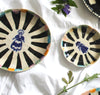 Delft Woman PETAL PLATE No10