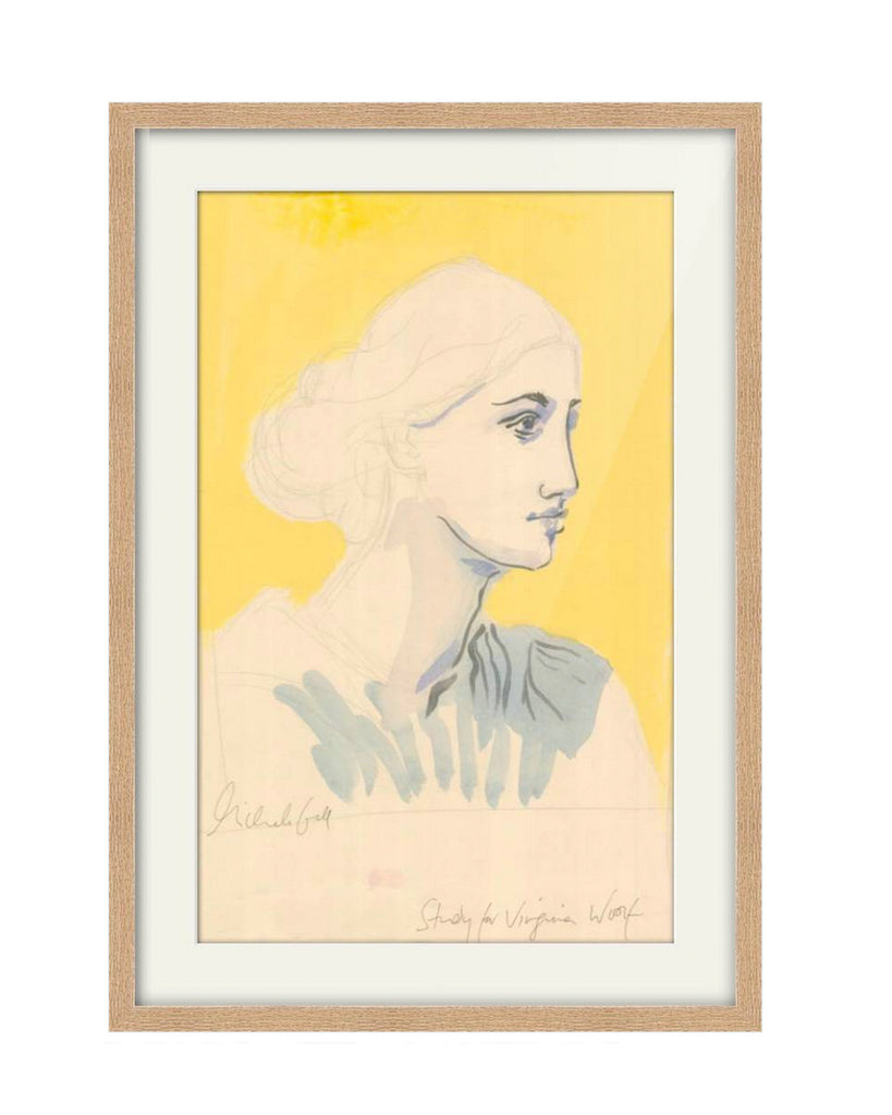 Original Painting - Study for Virginia Woolf
