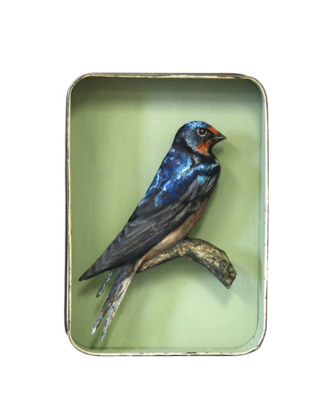 Paper Taxidermy | Swallow