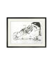 SALE: Swallow Monoprint
