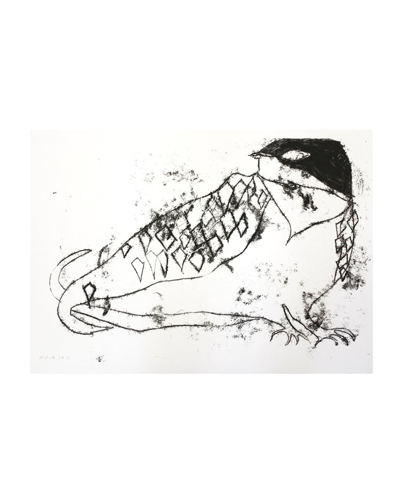 Swallow Monoprint