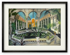 OIL PAINTING | Palm House with Water Lilies