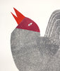 Seagull - large monoprint