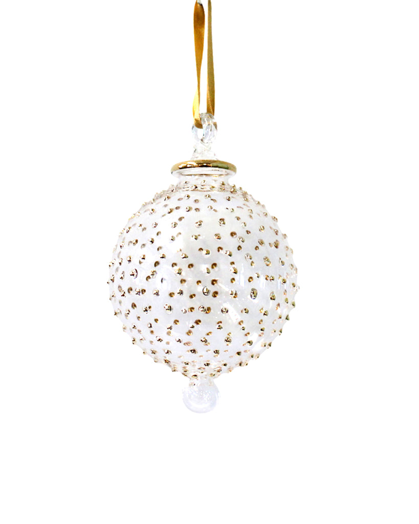 Hand Blown Decoration: Jubilee Gold (Large)