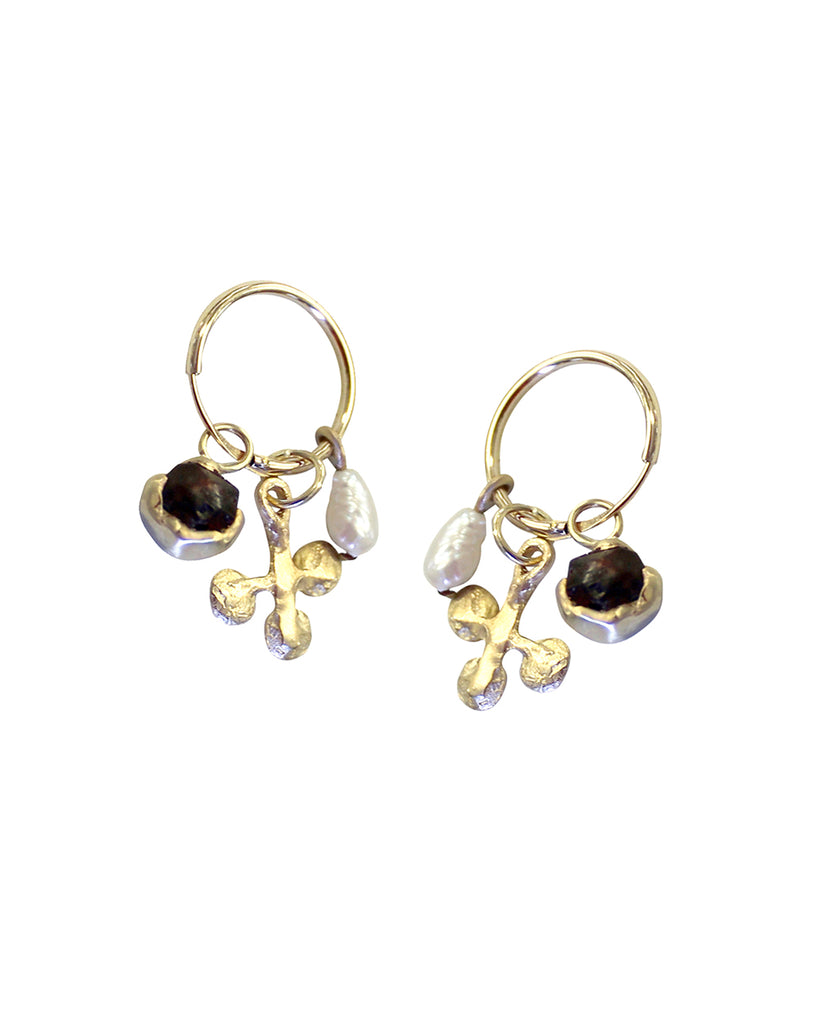 Three Treasure Earrings (GOLD)