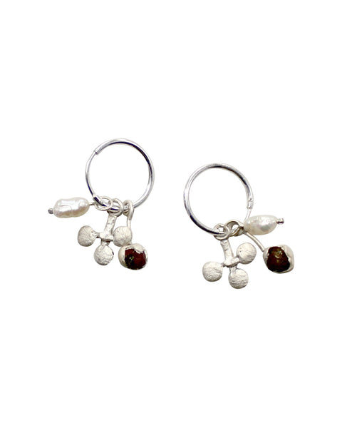 Three Treasure Earrings (SILVER)