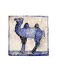 Tile Blue Camel