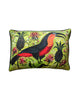 Large Cushion cover: Toucan & PIneapple