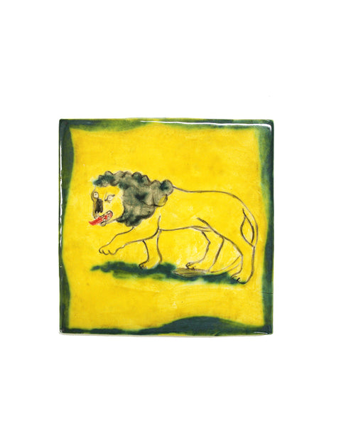 TILE: Yellow Lion