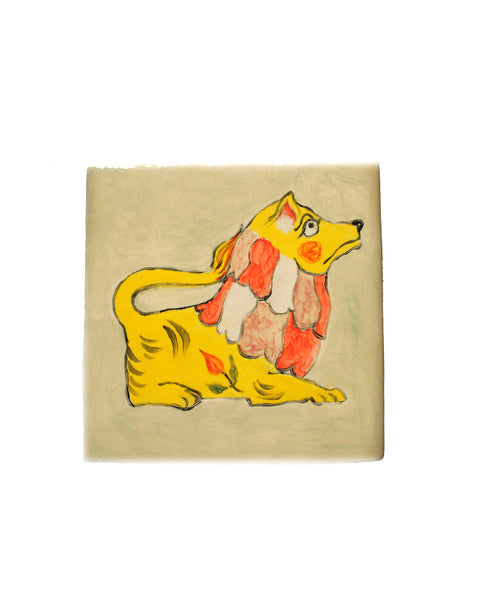 Tile: Young Lion Yellow