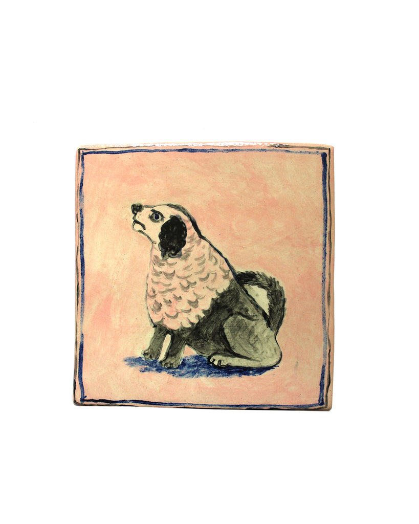 Tile: Dog (Curly Coat)