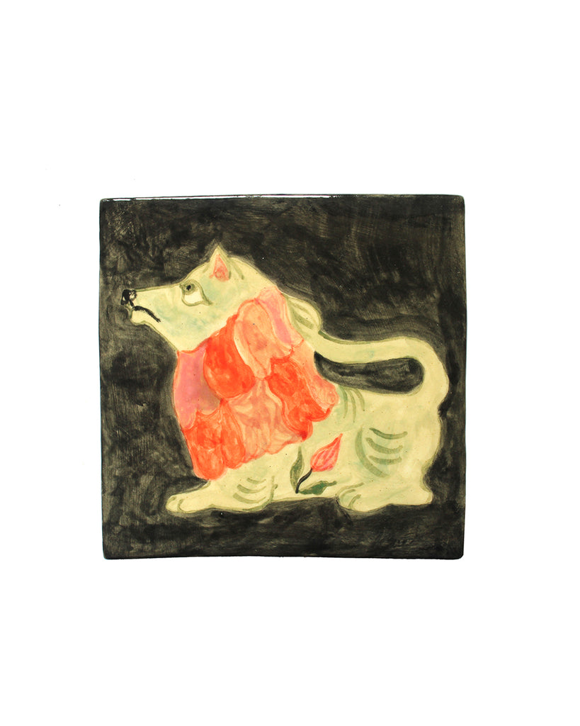 Tile: Young Lion